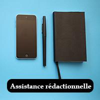 Assistance rédactionnelle