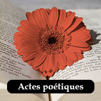 actes poétiques